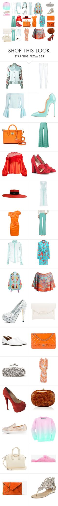 """Weekend away2"" by matan-sowatskey on Polyvore featuring La Perla, Thomas Wylde, Boohoo, Diane Von Furstenberg, M Missoni, Givenchy, Gucci, Zuhair Murad, Talbot Runhof and Balmain"