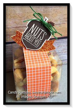 Perfect for a Thanksgiving table setting or little gift for teachers and co-workers.
