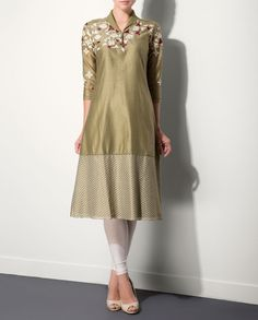 Tea Green Printed Tunic by AM:PM Shop Now http://bit.ly/ampmaw2014 #Tunic #KurtaSet #Prints #Dress #Embroidery #Floral #Gray #Black #Brown #Fuchsia #Teal #India #Designer #Indian #Luxury #Ethnic #DesignerWear #Fashion #Style