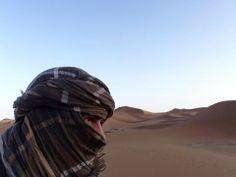 MIrage. Sahara desert Morocco side.