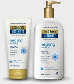 Gold Bond Ultimate Healing Lotion. I'm a bit of freak about having soft, awesome feet. This stuff is effective, not too too messy, and good for hands too. I've tried LOTS. My other fave is Burt's Bees coconut creme, but it's pricey at the rate I burn through it (cream up daily girls!) This is a good product.