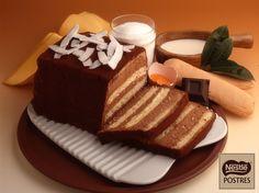 Pastel de chocolate y coco                                                                                                                                                     Más