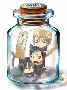 Tags: Anime, Ribka, DURARARA!!, Heiwajima Kasuka, Heiwajima Shizuo, Orihara Izaya, Biting