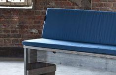 2er Sitzbank mit Rückenlehne » WITTEKIND Terrassenmöbel