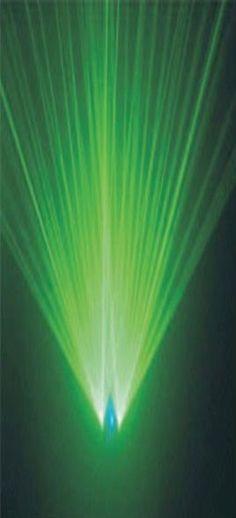 Double Green Laser Light