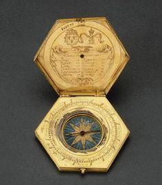 Antique Pocket Compass Arte Steampunk, Pocket Compass, Instruments, Compass Rose, Sundial, Grand Palais, Bare Necessities, Objet D'art, Coat Of Arms