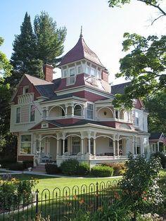 Queen Anne Victorian home.