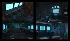 Control Room Interior Thumbnails by Raph04art spaceship spacecraft | Create your own roleplaying game books w/ RPG Bard: www.rpgbard.com | Dungeons and Dragons Pathfinder RPG Warhammer 40k Fantasy Star Wars Exalted World of Darkness Dragon Age 13th Age Iron Kingdoms Fate Core Savage Worlds Shadowrun Call of Cthulhu Basic Role Playing Traveller Battletech The One Ring d20 Modern DND ADND PFRPG W40K WFRP COC BRP DCC TOR VTM GURPS science fiction sci-fi horror art creature monster character…