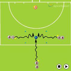 1V1 attacking box - 1v1 skills in hockey