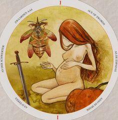 Ace of Swords - Circle of Life Tarot by Maria Distefano