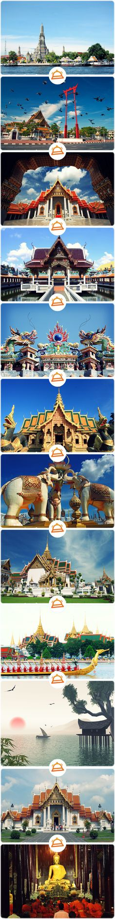 """Bangkok, Thailand!>>> http://www.otel.com/hotels/bangkok.htm?sm=pinterest  *Use the code """"UPYRPW15"""" while making your reservation on otel.com, get 10% #discount"""