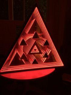 Cartel infinity LED mirror