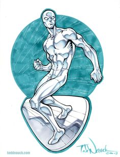 Silver Surfer by Todd Nauck *