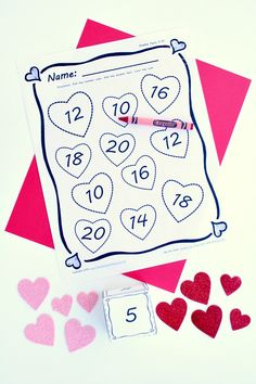 candy heart measuring math activity for kids math activities and math activities