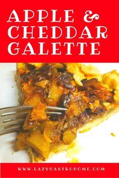 Apple & Cheddar Galette
