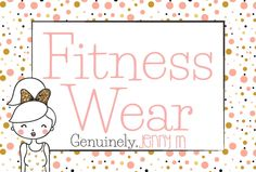 A board cover for all fitness wear ideas!