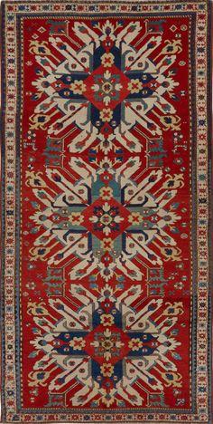Caucasian Eagle Kazak rug, Matt Camron gallery