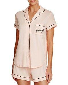 kate spade new york Goodnight Short Pajama Set