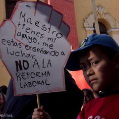 No los maestros críticos de la CNTE, el mal gobierno es quien desprestigia la educación y a México