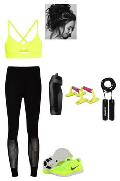 Untitled #618 by danielleguizio on Polyvore featuring polyvore, fashion, style, McQ by Alexander McQueen, Mara Hoffman, NIKE and clothing