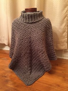 Ravelry: Sporty Poncho pattern by Salena Baca