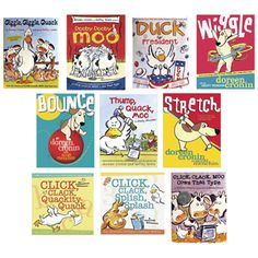 Fiction = Doreen Cronin Book Series - Various Years Storybook Characters, Story Structure, Author Studies, Readers Workshop, Books To Buy, Book Authors, Book Collection, Pre School, School Projects