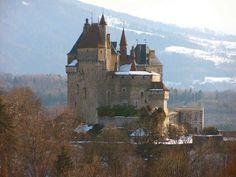 Château de Menthon-Saint-Bernard.