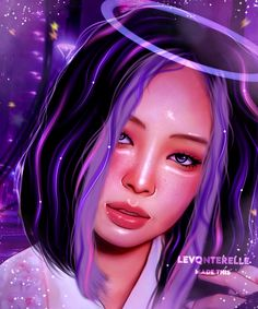 Cute Galaxy Wallpaper, Blackpink Poster, Kpop Drawings, Jennie Kim Blackpink, Arte Sketchbook, Black Pink Kpop, Digital Art Girl, Foto Jungkook, Blackpink Photos