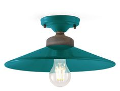 Colors Serie. The classic ceiling lamp that furnishes your ambients only through its fullness of color.