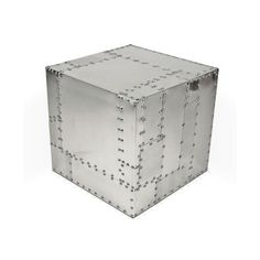 Deco Crate + Aluminum, $299, now featured on Fab.