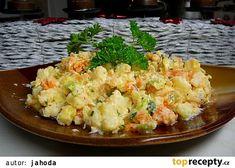Irská bramborová kapusta (Colcannon) Potato Salad, Cauliflower, Potatoes, Vegetables, Ethnic Recipes, Food, Treats, Sweet Like Candy, Goodies