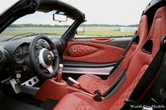 LOTUS Exige S Roadster Premium (NEW) - Vehicle Details grey red silver interior