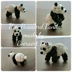 The Paracord Panda made by Everaert Kris