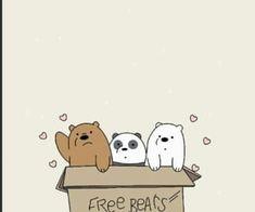 باندا شهاب And الدببه الثلاثه Resmi Cute Panda Wallpaper We Bare Bears Wallpapers Character Wallpaper