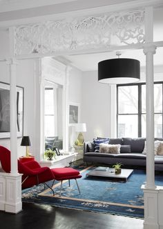 In Crown Heights, a young family's home gets a modern update with industrial furniture and practical infusions of whimsy