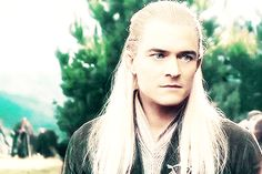 """Legolas explaining to Tauriel about why he's going to Gundabad. He's basically saying, """"Tauriel,I must go there alone.My lover,Galadwen,she is in danger.Without me,she could DIE! So,you must stay here!"""""""