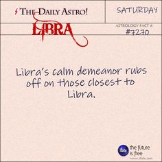 Libra Daily Astro!: Did you know you can do biorhythms for couples?  This is great for seeing if you're out of sync with each other.  Visit iFate.com today!