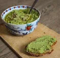 Recette de houmous au kale. vegan, végétalien, végétarien, végane
