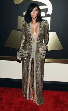 Kim Kardashian Reveals She Had a Major Wardrobe Malfunction at the 2015 Grammys—Watch Now!  Kim Kardashian, Grammy Awards