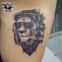 The Gentleman Lion. Stay tuned follow us for more updates and more awesome tattoos. For appointment please call or whatsapp your design 9650015002 //www.miragetattoos.com Mirage Tattoos, Best tattoo shop studio in Delhi | Dwarka | India, Best tattoo artist in Delhi | Dwarka | India https://www.facebook.com/miragetattoos #tattoo #tattoos #lion #liontattoo #gentleman #tattoodelhi #tattooidea #tattooideas #blackngreytattoo #armtattoo #tattoosbyashok #miragetattoos #tattootraining…