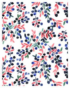 Textile print for Uniqlo by Miss Capricho