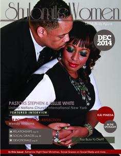 Pastors Stephen and Kellie White: Sheer Brilliance!