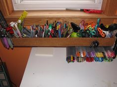 This is my holder for colored penicals, markers, ect......