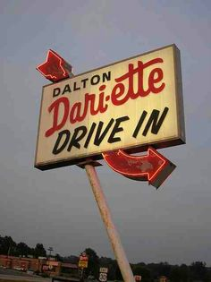 Drive-in signage
