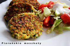 Pieruńskie maszkety - blog kulinarny: Kotleciki z kaszy jaglanej i szpinaku
