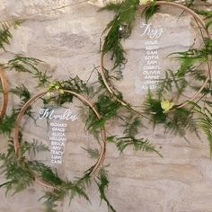 A close up of the table plan we created with at 😍! Rustic Table Numbers, Wedding Table Numbers, Christmas Decorations To Make, Wedding Decorations, Find Your Seat Sign, Wooden Embroidery Hoops, Seating Plan Wedding, Bridesmaid Proposal Gifts, Clear Perspex
