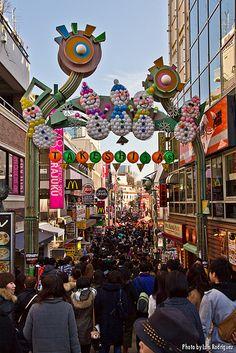 Un paseo a pie por la calle Takeshita en Harajuku (Tokio)