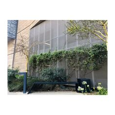 Our very popular rectangular angled benches and external bins, placed in contrast to the striking wall pattern of the Towers. Our bollards, distinguish the area between the building's walkway and adjacent transport hub