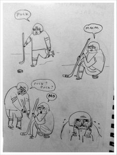 Cause Kate Beaton are awesome. And this is what hockey is, right??