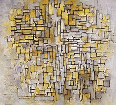 Composición VII. Mondrian. 1913